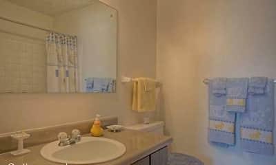 Bathroom, Cottonwood Apartments, 0