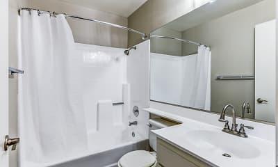 Bathroom, Portofino Apartments, 2