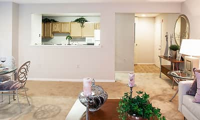 Dining Room, Country Meadows Apartments, 2