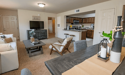 Living Room, The Park at Coffee Creek, 1