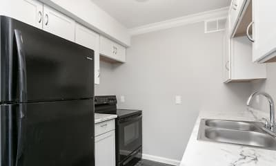 Kitchen, Bear Garden Apartments, 0