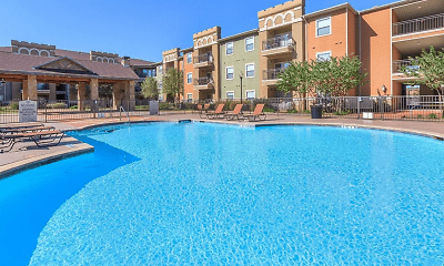 Pool, Peachtree Senior Living Apartments, 0