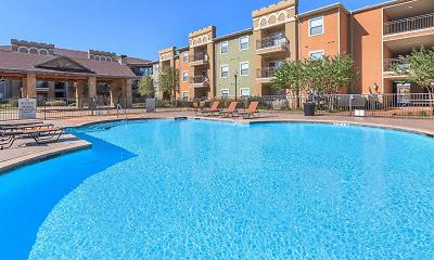 Pool, Peachtree Senior Living Apartments, 0