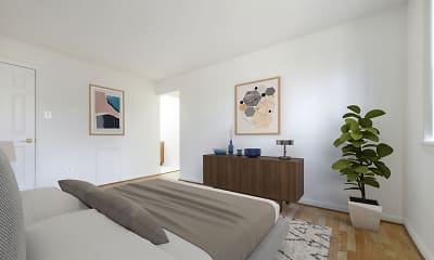 Bedroom, Brighton Village, 2