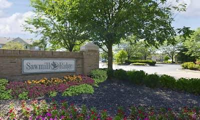 Community Signage, Sawmill Ridge, 1