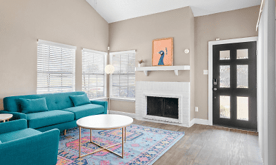 Living Room, The Townhomes on Peacock Hill, 0