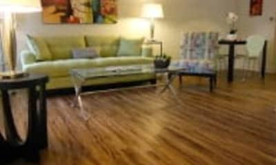 Living Room, Audubon Lake Apartment Homes, 2
