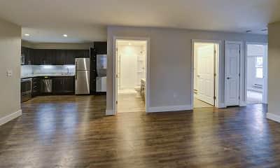 Living Room, East Village Flats, 1
