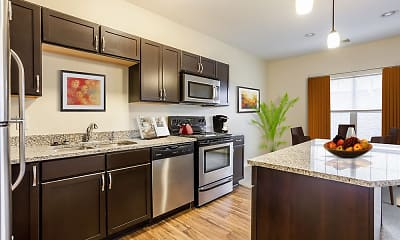 Kitchen, Ethan Pointe Apartments, 1