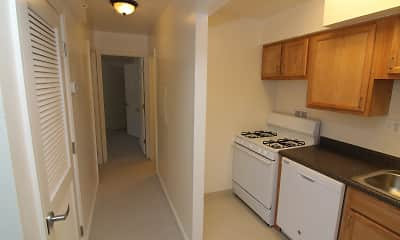 Kitchen, Highland Terrace Apartments, 0