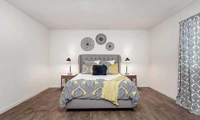 Living Room, Stadium Apartments, 1