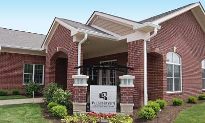 Community Signage, Westhaven Luxury Apartments of Zionsville, 1