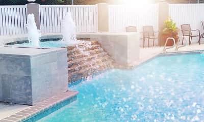 Pool, Meridian Bay Apartments, 1