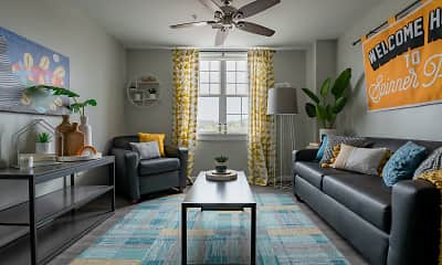 Living Room, Spinner Place, 1
