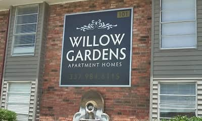 Community Signage, Willow Gardens, 2