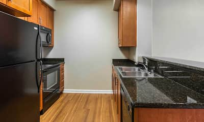Kitchen, Kelvin Court, 1
