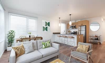 Living Room, Beam, 1