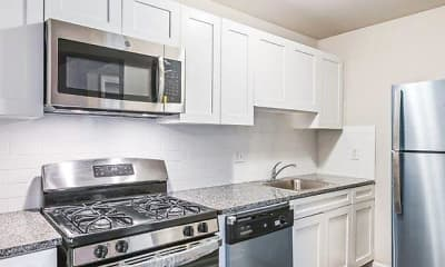 Kitchen, Hidden Valley Apartments, 0