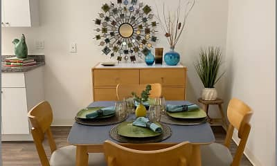 Dining Room, Meadowwood Apartments, 1