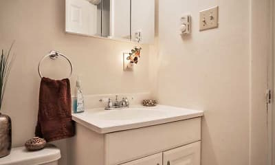 Bathroom, High Ridge Apartments, 2
