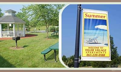 Community Signage, Teller Village, 2