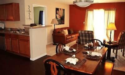 Dining Room, Wildwood Meadows Apartments, 0