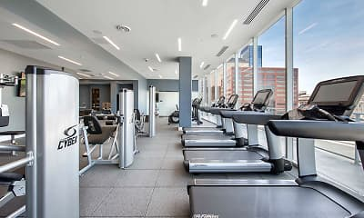 Fitness Weight Room, 360 Market Square, 0