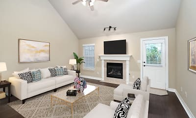 Living Room, 15th Place Townhomes, 0