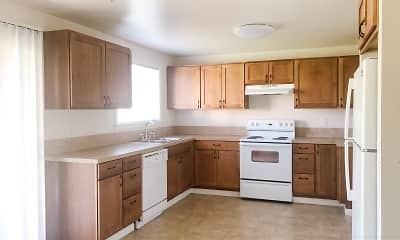 Kitchen, Fircrest Family Townhomes, 0