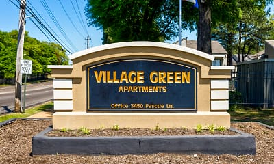 Community Signage, The Residence at Village Green, 2