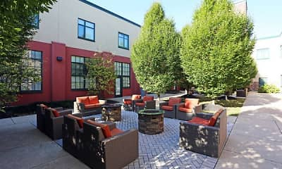 Patio / Deck, Silk Factory Lofts, 2