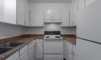 Kitchen, Maple Manor Apartments, 1