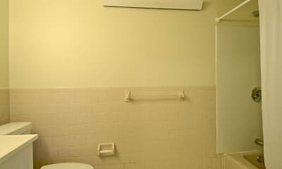 Bathroom, Gristmill Apartments, 2