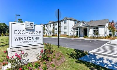 Community Signage, Exchange at Windsor Hill, 0