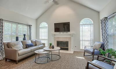 Living Room, Lakeshore Village, 0