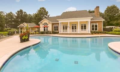 Pool, Highland Park Apartments, 0