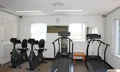 Fitness Weight Room, Vail Manor-55+ Active Adult Community, 1
