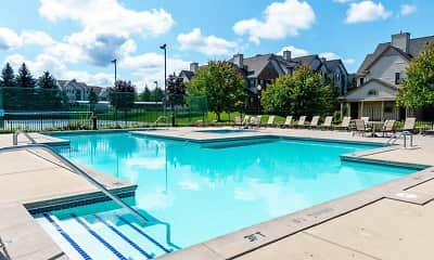 Pool, River Oaks Apartments, 0