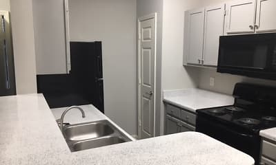 Kitchen, Lakeview Apartments, 0