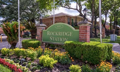 Community Signage, Rockridge Station, 0