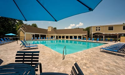 Pool, The Crossing at Santa Fe - Per Bed Lease, 1