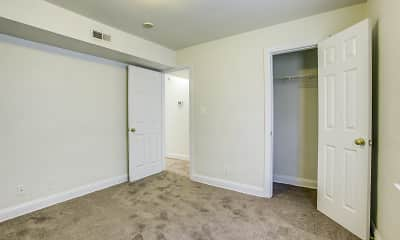 Bedroom, Westhills Square Apartments, 2