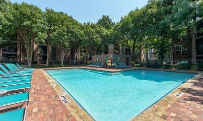 Pool, Oaks Hackberry Creek, 0