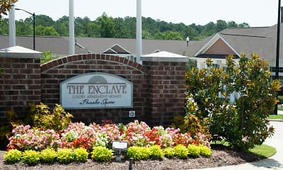 Community Signage, The Enclave at Pamalee Square, 2