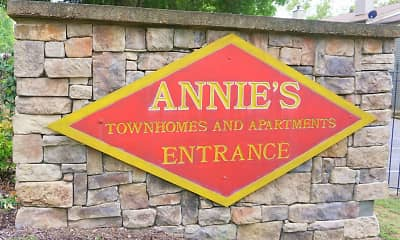 Community Signage, Annie's Townhomes, 1