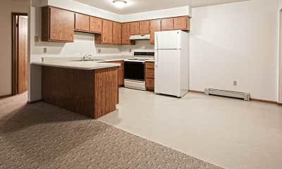 Kitchen, Shadow Creek Apartments, 1