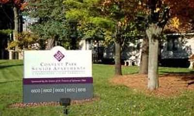 Community Signage, Convent Park Apartments, 2