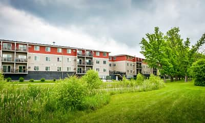 Building, Mill Pond Apartments, 2