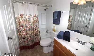 Bathroom, Camelot Apartments, 0