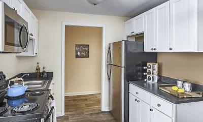 Kitchen, Norris Hills Apartments, 1